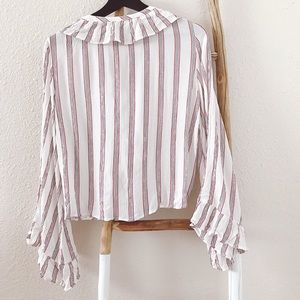 American Eagle Outfitters Tops - American Eagle Bell-Sleeve Blouse